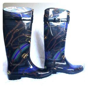 Ralph Lauren rain boots.  Rossalyn style.